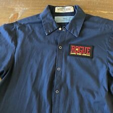 Vintage Men's Work Shirt Size M with Rogue Ales Embroidered Patch