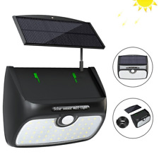 Solar Lights Outdoor, Bcway [48 LED Super Bright] [Detachable Solar Panel] 8.2ft