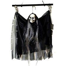 Halloween Skeleton Skull Head Bar KTV Voice Hanging Party Decorative Props Toy