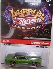 Hot Wheels Larry's Garage '68 Mercury Cougar Green Real Riders