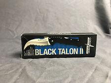 Cold Steel Black Talon II Plain Edge Folding Knife 4in 22BT