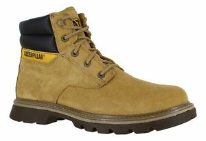 Mens CAT Caterpillar QUADRATE Suede Leather Lace up Desert Boots Size UK 12 46