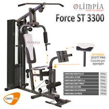 GetFit - FORCE ST 3300 - Stazione Pesi Multifunzionale Completa + Chest Press
