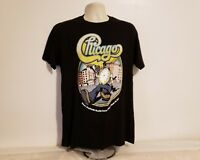 2016 Chicago Live Music Adult Large Black T-Shirt