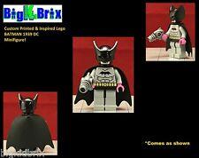 BATMAN 1939 Custom Printed & Inspired Lego DC Minifigure w/Custom Gear