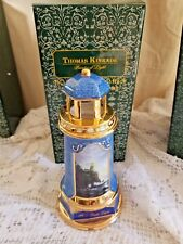 "Nib Thomas Kinkade Ceramic 3 Lighthouses ""2 Split Rock Light"" / ""Light of Peace"""
