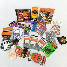 Halloween Party Supplies Goody Treat Bags Invitation Books Bundle