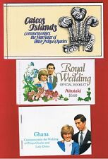 Caicos #12 plus 11 different  Royal Wedding  Booklets