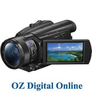 New Sony FDR-AX700 4K Camcorder PAL 1 Year Au Warranty