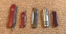 5 Multiblade Victorinox Swiss Army Knives & Other Brands
