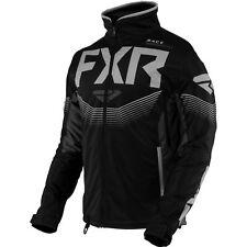 FXR Cold Cross RR 21 Mens Snow Jacket Black/Charcoal/Gray