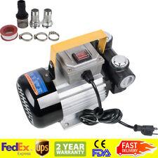 110V Ac 60L/min 550W Oil Diesel Fuel Transfer Pump Self Priming 110V Ac 550Watts