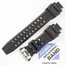 CASIO black rubber watch band for GW-4000, 10397883