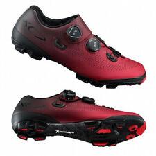 Shimano XC7 Carbon MTB Boa Mountain Bike Shoes Red SH-XC701 45 (US 10.5)
