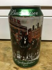New listing Budweiser Beer Clydesdale Christmas Collection Beer Can
