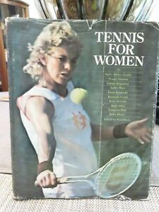 TENNIS FOR WOMEN Hardcover Book (1973)