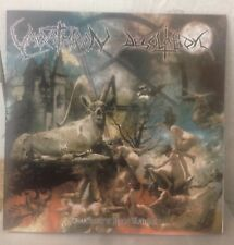 "VARATHRON / DESOLATION SPLIT 7"" EP necromantia rotting christ kawir zemial venom"