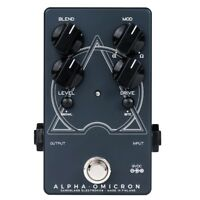 Darkglass Electronics Alpha Omicron Bass Preamp Overdrive Guitar Effects Pedal