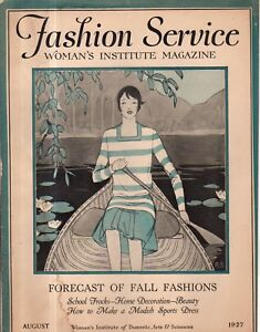 1927 Fashion Service - August - Fall Fashions - Fall and summer frocks and hats