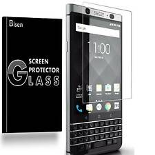 BlackBerry Keyone / Mercury [2-PACK BISEN] Tempered Glass Screen Protector Guard