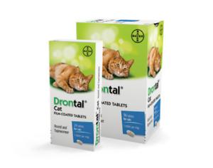 BAYER dewormer Drontal¹ Cat Katze Wurmkur - 2 Tabletten Tablets