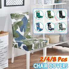 2/4/8Pcs Stretchable Chair Covers Kitchen Dining Seat Cover Restaurant  /