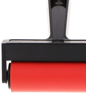 10cm Rubber Brayer Roller for Printing Inks Oil Painting Clay Stamping Art Cr