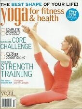 Yoga for Fitness and Health magazine Strength training Workouts Core challenge