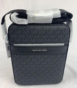 Michael Kors Mens Cooper Flight Bag- Black