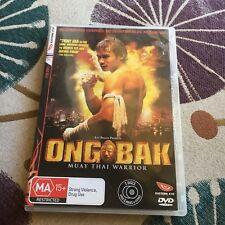 ONG BAK. MUAY THAI WARRIOR DVD. 2 DISCS