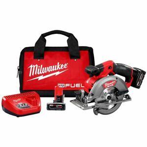 Milwaukee 2530-21XC M12 FUEL 12V 5-3/8-Inch Circular Saw Kit