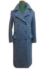 DRIES VAN NOTEN Wool Coat Size Small Perfect Rare Luxury Alta Moda RRP1490