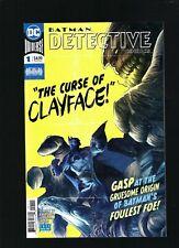 DC REBIRTH >DETECTIVE COMICS ANNUAL #1 CLAYFACE ORIGIN> BATMAN NM+
