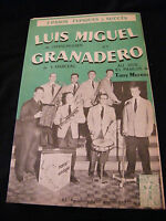 Partition Luis Miguel Verschueren Granadero Marceau Music Sheet