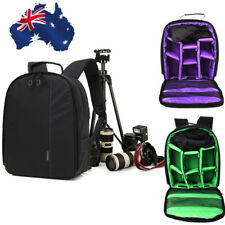 AU Photography Digital DSLR Camera Bag Backpack Waterproof Photo Camara Bags Red