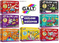 Galt Magnetic Lab, Rainbow Lab ,Science Lab, Slime Lab- 11 Options to Choose !