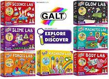 Galt Magnetic Lab, Rainbow Lab ,Science Lab, Slime Lab- 11 Options to Choose !
