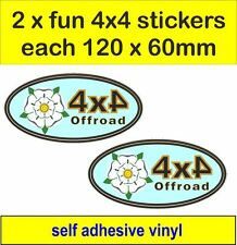 off road 4x4 fun stickers graphic yorkshire decal land rover defender discovery