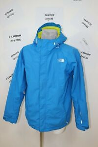 The North Face Mens HyVent Insulated PitZips Hooded Ski Snow Jacket sz Large