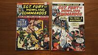 SGT. FURY and His Howling Commandos # 122, 123