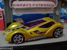 2012 Hot Wheels SINISTRA ✿Gold w/Purple✿New LOOSE✿Multi Pack Design Exclusive✿