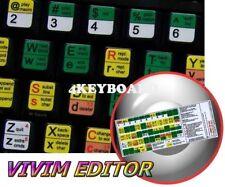 Vi and Vim editor keyboard sticker