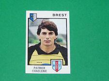 N°48 PATRICK CHASLERIE STADE BRESTOIS BREST PANINI FOOTBALL 85 1984-1985