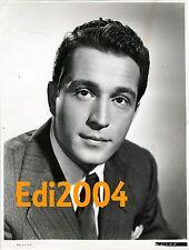 PERRY COMO Vintage Original Photo & Autograph Card Sexy Early Star Singer #1