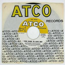KING CURTIS I Was Made To Love Her/I Never Loved A Man 7IN NM-