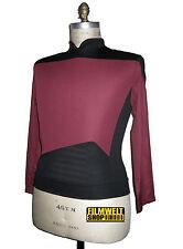 STAR TREK - Uniform Next Generation Captain - rot  NEU - S