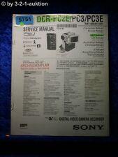 Sony Service Manual DCR PC2E /PC3 /PC3E Digital Video Camera (#5751)