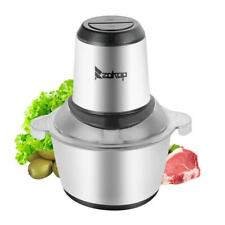 ZOKOP 2L Automatic Meat Grinder Household Mincer Chopper Food Processor Home Use