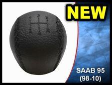 NEW GEAR KNOB SHIFT KNOB SAAB 95 9-5 LEATHER 4777074 (1998-2010) 5 SPEED **NEW**