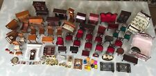 Dolls House Mixed furniture 12 scale? Huge Job Lot Table Chairs Drawers ETC